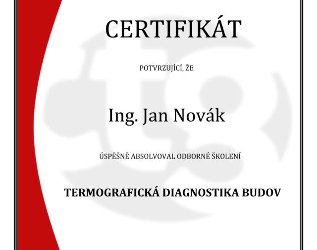 Termografická diagnostika budov-1