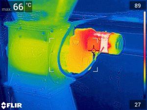 Termokamera – aplikace, využití: online školení