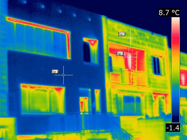 Školení - měření budov termokamerou